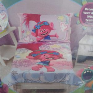 Troll 4pc Toddler Bedding Set for Sale in Boston, MA