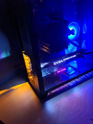 Gaming Computer i5-8600k 4.6Ghz GTX 1080 SSD 16GB DDR4 Ram for Sale in North Springfield, VA