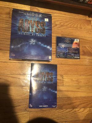 Abyss: Incident At Europa Big Box (PC, 1998) for Sale in Belmont, MA