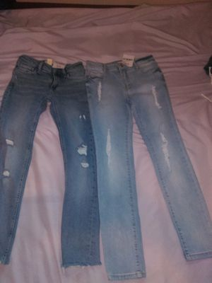 Brand new little girl jeans with tags on for Sale in Lemon Grove, CA