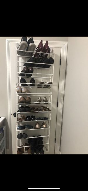 36 pair door shoe rack for Sale in Southaven, MS