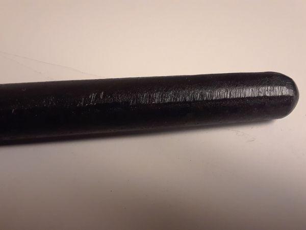 10lbs total (20) 8oz black lead cigar shaped weights