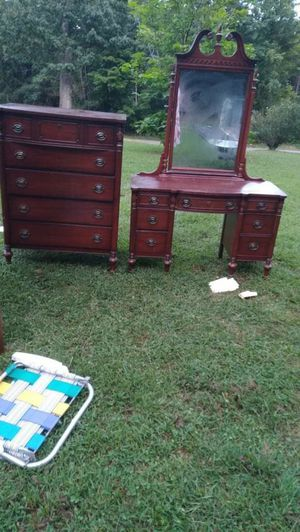 Antique mirror and dresser and another for Sale in Ridgeway, VA