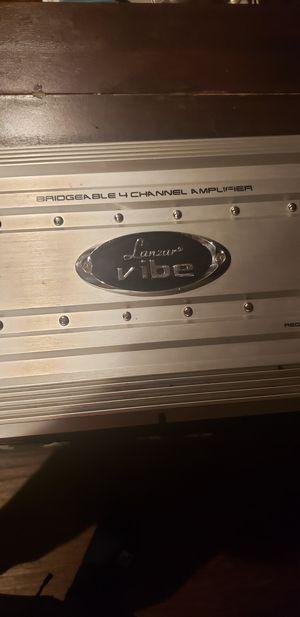 Lanzar vibe de 5,000 watts 4 canales for Sale in Phoenix, AZ