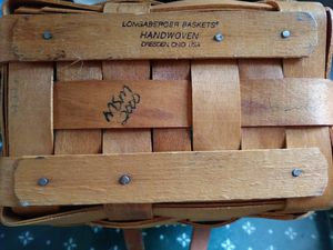 2- Longaberger baskets for Sale in Hilliard, OH