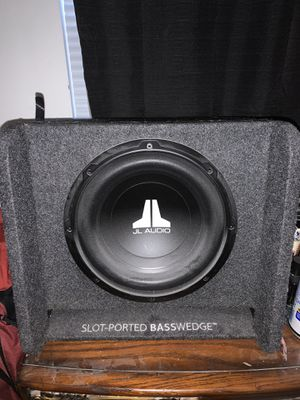 """10"""" jl audio sub for Sale in Virginia Beach, VA"""