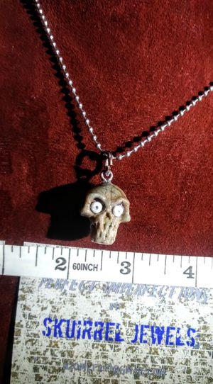 Handcarved Skull Pendant for Sale in Colorado Springs, CO
