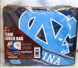North Carolina Tar Heels Team Insulated Lunch Bag Cooler Zippered Closure NCAA for Sale in Carmichael, CA