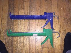 Caulk guns w/ spout cutters for Sale in Boston, MA