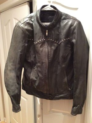 Genuine Triumph Leather Ladies Motorcycle Jacket for Sale in Sharpsburg, GA
