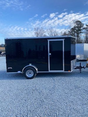 New 2021 Black 6x12 Single Axle $2685 for Sale in Benson, NC
