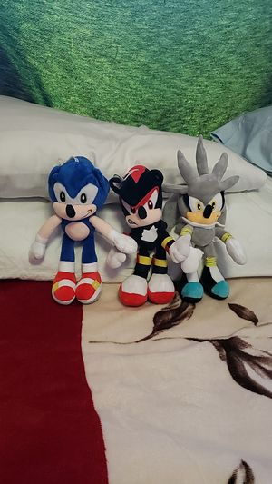 """Sonic the Hedgehog 10"""" Plushies for Sale in Los Angeles, CA"""