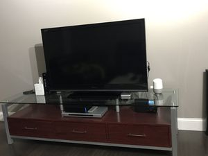TV stand - entertainment center for Sale in Rockville, MD