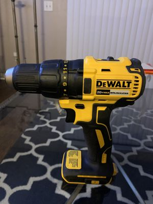 DeWalt Brushless Drill 20V Max for Sale in Tampa, FL