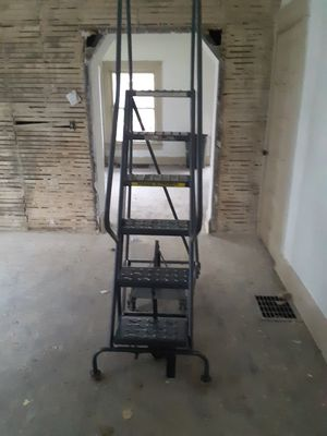Industrial ladder for Sale in Columbus, OH