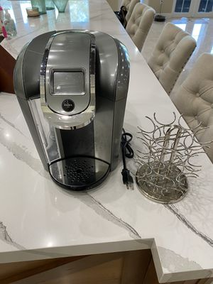 Keurig K2.0 coffee machine with pod holder for Sale in Southwest Ranches, FL