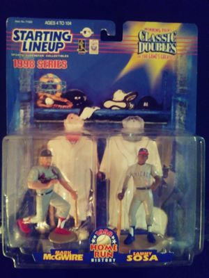 Starting Lineup Mark McGwire & Sammy Sosa Collectible Action Figure for Sale in Las Vegas, NV