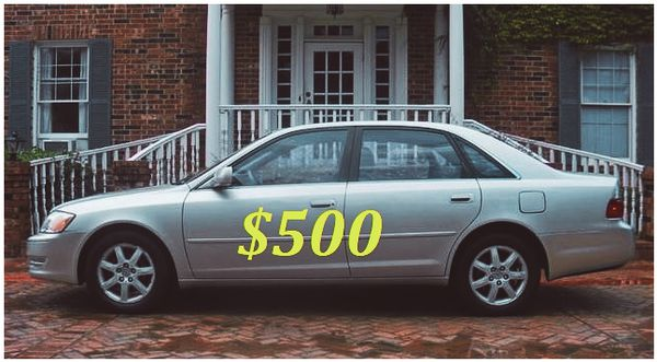 2003 Toyota Avalon 🚗Clean Title⚠️115K Miles🚗. Automatic Transmission ⚠️Fully Loaded MUST TEST DRIVE🚗