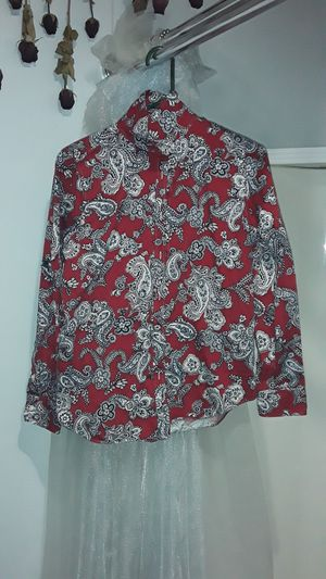 Paisley button up blouse for Sale in Norfolk, VA