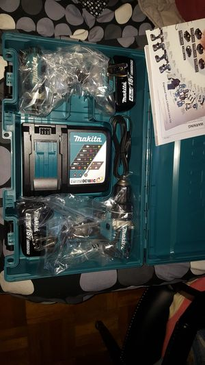 Makita drill set for Sale in New York, NY