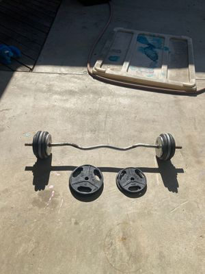Weights and bar for Sale in Fresno, CA