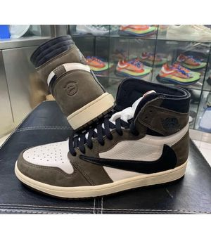 jordan 1 cactus jack Air Jordan 1 Retro High Travis Scott US 10 Basket Shoes for Sale in Ramsey, MN