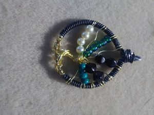 Mother's tree of Life charm with birthstones for Sale in Columbus, OH