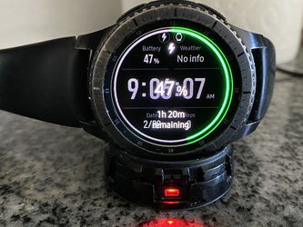 Gear S3 Frontier Samsung Watch | Used for Sale in Los Angeles,  CA
