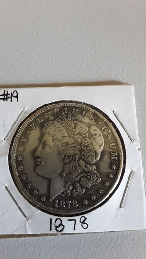 1878 Morgan Silver Dollar Coin for Sale in Greenville, OH
