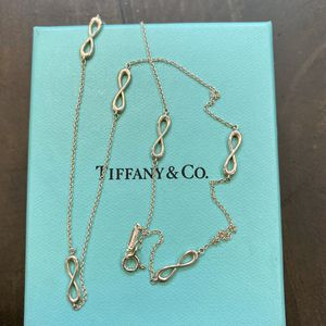 Tiffany & Co Infinity Endless Necklace Silver for Sale in Austin, TX