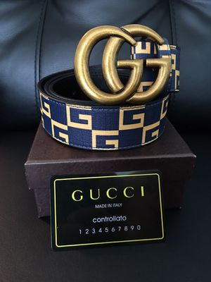 GUCCI Belt Blue Navy for Sale in Chicago, IL