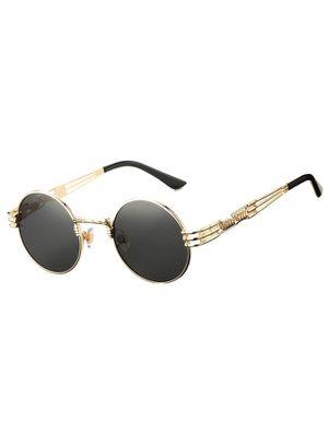 DeBuff Retro Round Steampunk Sunglasses John Lennon Hippie Glasses Metal Frame for Sale in Tustin, CA
