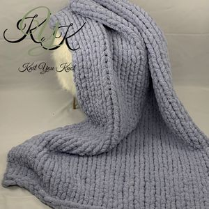 Chunky Knit Chenille Blankets for Sale in Snohomish, WA