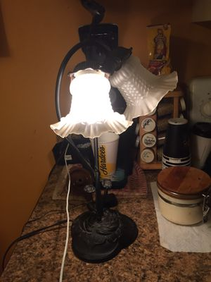 Antique zinc portable lamp for Sale in Inman, SC