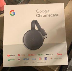 Google Chromecast 3rd gen for Sale in Thomson, GA