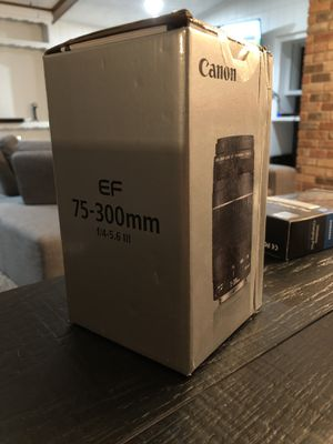 Canon 75-300mm Lense for Sale in Mesquite, TX