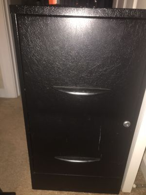 2 drawer metal filing cabinet for Sale in Rolesville, NC