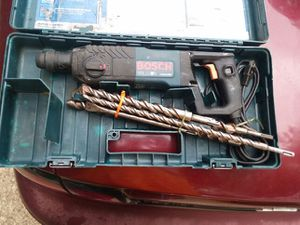 Bosch Bulldog SDS Hammer Drill with bits and case for Sale in Pasadena, MD