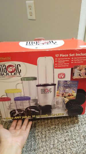Magic Bullet Attachments Only for Sale in Everett, WA