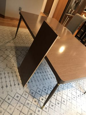 Beautiful True Mid Century Modern extendable dining table for Sale in Bonney Lake, WA
