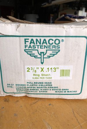 Fanaco Fasteners - Nail Gun Nails for Sale in Gresham, OR