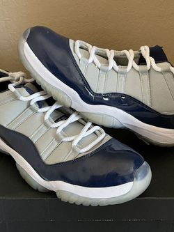 Nike Air Jordan Retro 11 Low Georgetown Navy White 528895-007 Men's Size 13 for Sale in Phoenix,  AZ