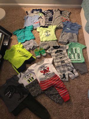 Baby boy clothes 0-9 months for Sale in Glen Burnie, MD