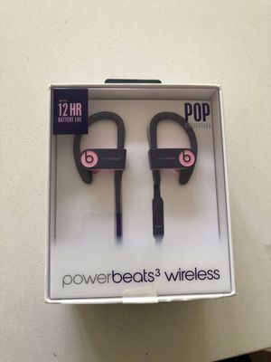 Power beats 3 wireless for Sale in Kent, WA