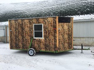 Used nice fish house lite wait for Sale in South Haven, MN