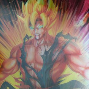 Dragon ball z 3d poster for Sale in Fontana, CA