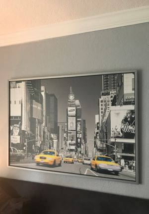 New York time square photography wall art for Sale in South Miami, FL
