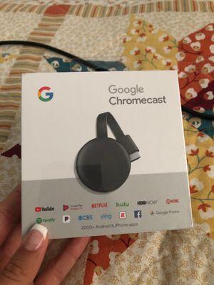 Google Chromecast new for Sale in St. Petersburg, FL