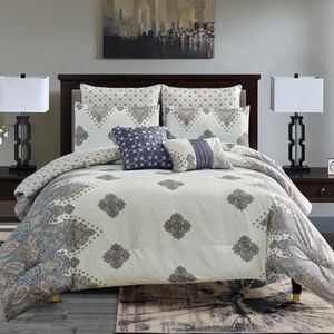 7 Piece Riri Comforter set Queen, King & Cal King for Sale in Pomona, CA