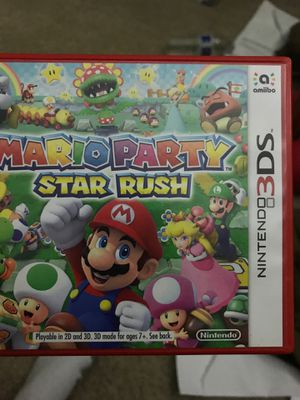 Mario party star rush 3ds for Sale in Hayward, CA